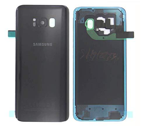 Copribatteria originale per Samsung Galaxy S8 Plus G955F G955 S8 + strisce adesive nere Midnight GH82-14015A