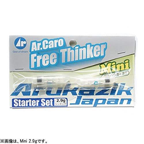 Arukazik Japan(アルカジックジャパン) ウキ フリーシンカーMini スターターセット 2.9g 2個入 25055