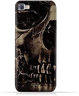 Infinix Zero 3 X552 TPU Silicone Protective Case with Dark Skeleton Pattern