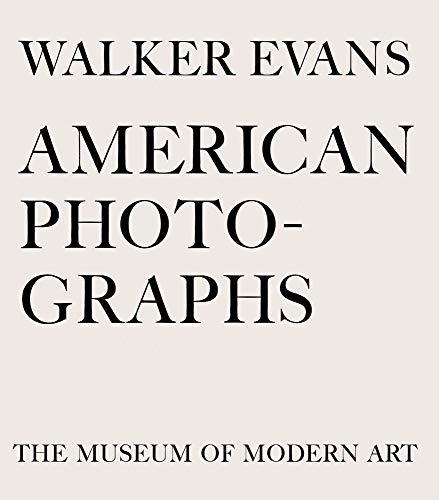 WALKER EVANS AMER PHOTOGRAPHS