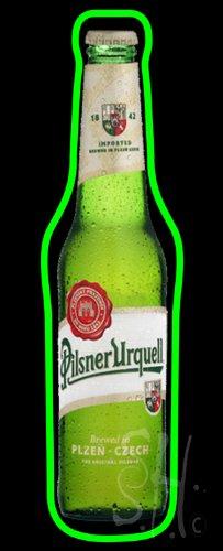 Pilsner Urquell Bottle Beer Neon Sign 32' Tall x 13' Wide x 3' Deep