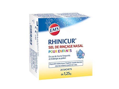 RHINICUR Sel de Rinçage Nasal Enfants 20x1,25G