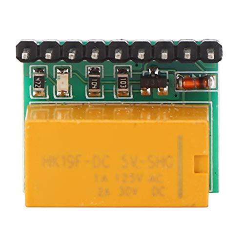 Tablero de interruptor de inversión de polaridad del módulo de relé DR21A01 DPDT, tablero de interruptor de inversión de polaridad de 5 V CC, para cambiar la dirección del motor de CC