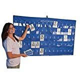 S&S Worldwide Manual Bingo Masterboard Pocket Chart
