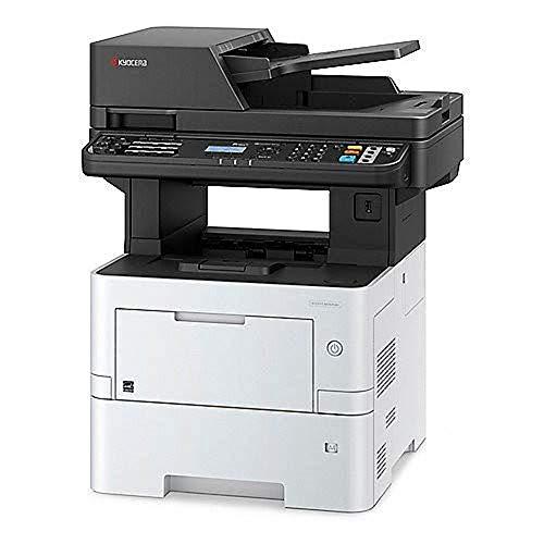 Kyocera Klimaschutz-System Ecosys M3645dn/KL3 4-in-1 Multifunktionsdrucker. 3 Jahre Kyocera Life vor Ort Service. Schwarz-Weiß, Duplex-Einheit, 45 Seiten pro Minute mit Mobile-Print-Funktion