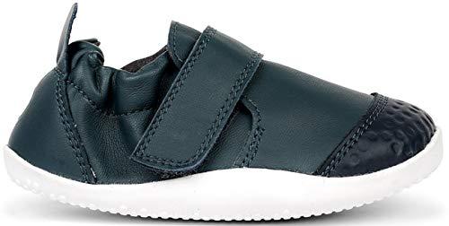 Bobux XP Go Trainer Babyschuhe aus Leder, Blau - Marineblau - Größe: 22 EU