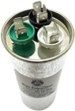 Appli Parts Dual Run Capacitor 35 + 10 Mfd uF (microfarads) 370 VAC Round 5-1/4 in High 2 in Wide CON-35/10-370-R