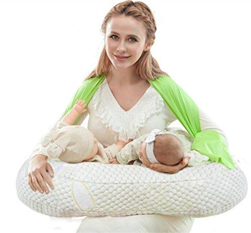 HYHAN Zwillinge Stillen Kissen Krankenpflege Kissen für Stillen Soft Nursing Schwangerschaft Kissen/Kissen, 1