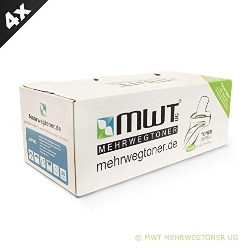 4X MWT Drucker Patronen für Ricoh Aficio MP 161 171 201 Ln s f SPF L ersetzt 888261 TYPE1270D Schwarz