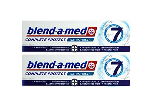2x Blend-a-med Complete Protect 7 Zahncreme Extra Frisch 75ml Zahnpasta Neu & OVP