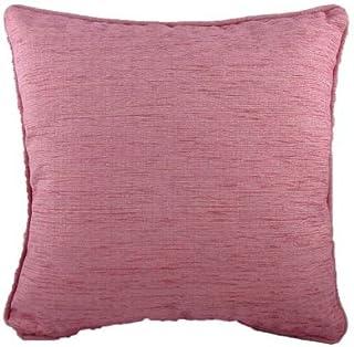 Evans Lichfield-Savannah-Coussin en tissu Chenille 43 cm-Rose - 43 x 43 cm-Coussins de qualité