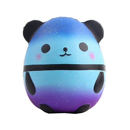 BESTOYARD Langsam Aufsteigendes Panda Weihnachten Antistress Spielzeug Geschenk für Kinder Erwachsene