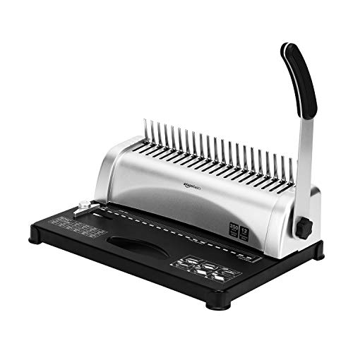 Amazon Basics Comb Binding Machine