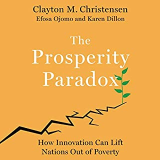 The Prosperity Paradox audiobook cover art