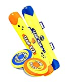 J&A's Inflatable Dudes Jousting Set- (Ninja & Rex) Dinosaur Push Bumper Sticks| Inflatable Toy| Gladiator Party Game for Kids | Family Backyard or Yard Games | Indoor Lawn Games| Limited Stock