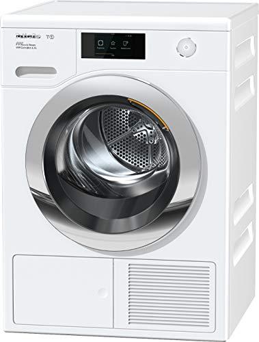 Miele TCR 860 WP Wärmepumpentrockner mit 9kg Schontrommel und Vorbügelfunktion/Trommelbeleuchtung für leichtes Be- und Entladen/integrierte Kondenswasserableitung und EcoDry Technologie