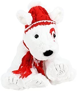Target Limited Edition Holiday Bullseye Dog Plush St. Jude's - Numbered