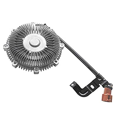 BOXI Engine Cooling Thermal Fan Clutch for 2006-2010 Ford Explorer / 2007-2010 Ford Explorer Sport Trac / 2006-2010 Mercury Mountaineer (4.0L V6 / 4.6L V8) Replaces 7L2Z8A616A 3263