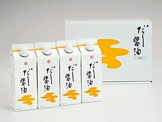 鎌田醤油 だし醤油 500ml 紙パック 4個入り