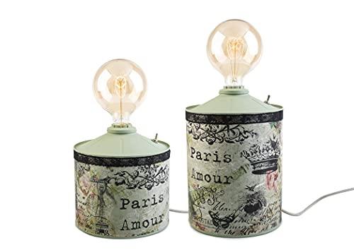 Lámpara Vintage Argang Paris (20x37 cm.)