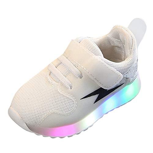 Luckycat LED Zapatillas de Luces Transpirables para los Niños y los Adolescentes Unisex Led Skate Zapatillas Zapatos Patines Deportes Zapatos para Niños Niñas