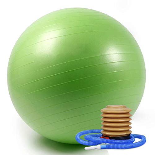 WTXDDQ Minipelota de Estabilidad para Yoga, Pilates, Ejercicios de Fitness,Verde,85cm