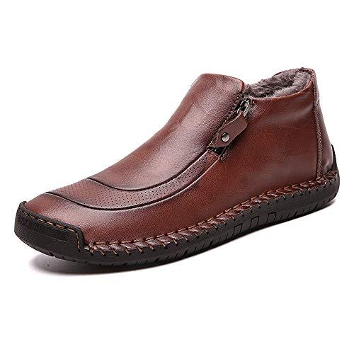 LIEBE721 Botas Hombre Zapatos náuticos Hombre Zapatos