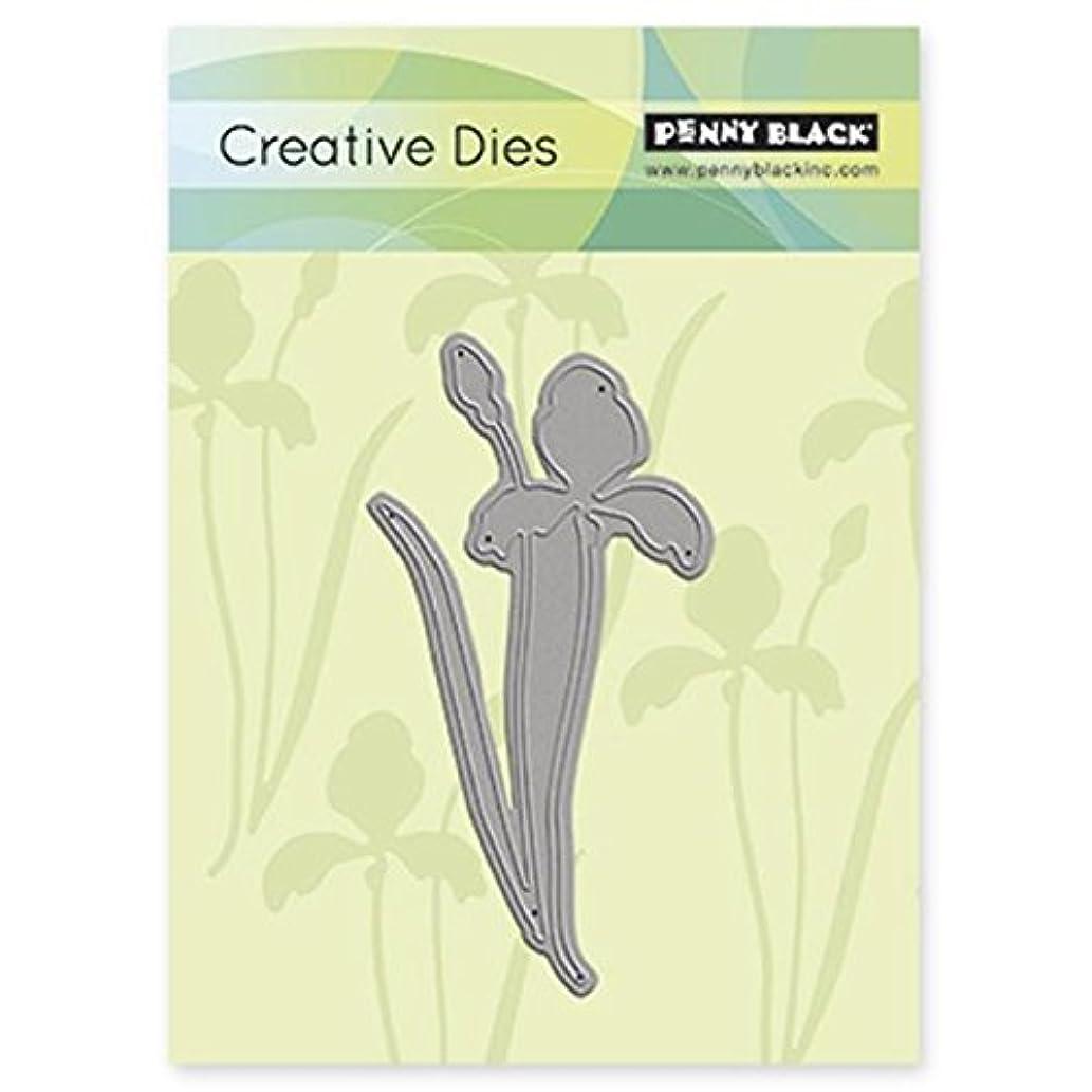 Penny Black Iris Decorative Dies