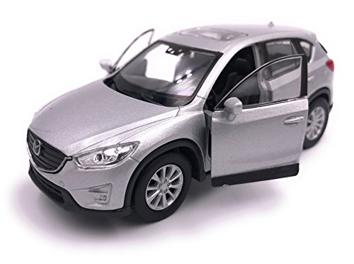 H-Customs Welly Mazda CX 5 Model Car Car Producto Licenciado 1: 34-1: 39 Plata