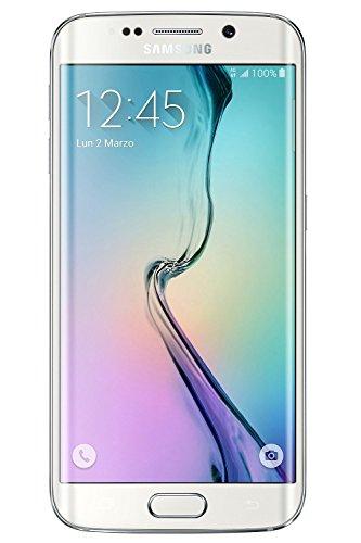Samsung G925 Galaxy S6 Edge Smartphone, 64 GB, Marchio TIM, Bianco [Italia]