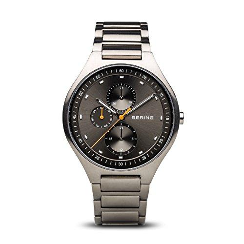 BERING Herren-Armbanduhr Analog Quarz Titan 11741-702