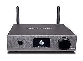 WiFi, LAN, Airplay, Bluetooth aptX-HD, ingressi analogici e digitali (24/192 HD). Alta qualità del suono grazie al convertitore ESS Sabre. Qobuz, Spotify, Tidal, TuneIn, iHeartRadio, Napster, QQ Music e altri. Compatibile con Multiroom, DSP per impos...