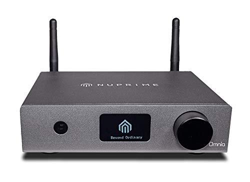 NuPrime Omnia WR-1 Streaming Bridge, ESS Sabre Wandler, Airplay, Bluetooth aptX HD, Spotify, Tidal, Qobuz