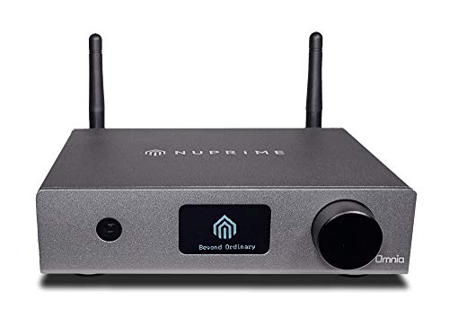 NuPrime Omnia WR-1 Streaming Bridge, ESS Sabre Wandler, Airplay, Bluetooth aptX HD, Spotify, Tidal, Qobuz