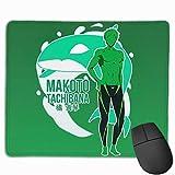 Tappetino per mouse per laptop, il temerario e coraggioso tappetino per mouse da gioco in gomma antiscivolo con bordo cucito