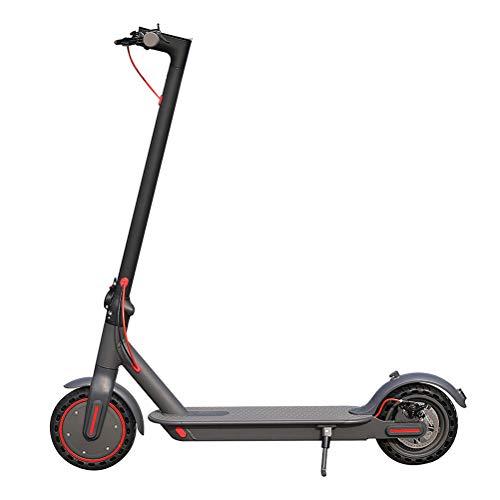 AYily Scooter eléctrico, AOVO EW6 3 velocidades ajustable Acooter, velocidad máxima 30 km/h, totalmente plegable y ajustable, Patinete con pantalla LCD