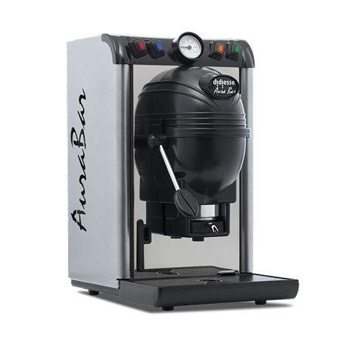 Didiesse Aura Bar Base Silver Macchina Caffe a Cialda Ese 44 mm filtro carta con kit Assaggio Cialde Emporio del Caffè