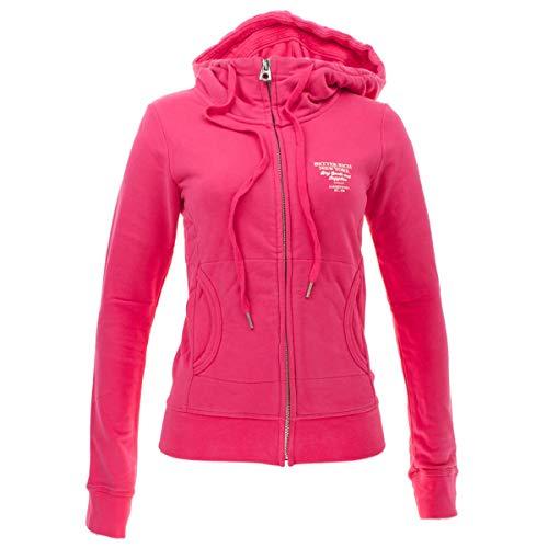 Better Rich Damen Sweatjacke mit Kapuze Shelby Größe XXL Pink (pink)