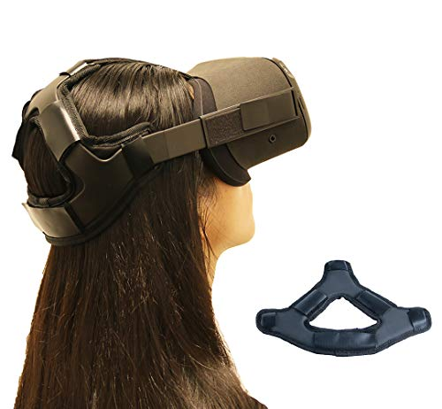 Best Price Eyglo Headband Head Strap for Oculus Quest VR Headset Reduce Head Pressure Protect Head O...