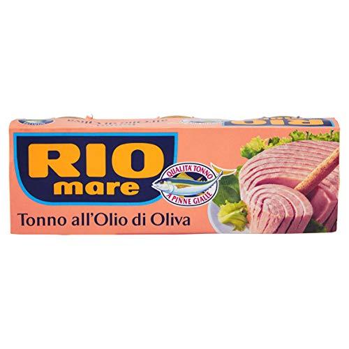 Rio Mare - Tonno all'Olio di Oliva, Qualità Pinne Gialle, 24 lattine da 80g