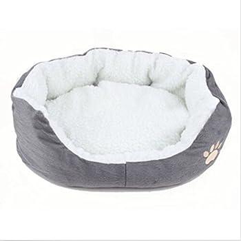 Froomer Former ronde ou ovale Dimple Grotte en polaire Nichoir pour chien chat lit Pet Lit pour chats et petits chiens