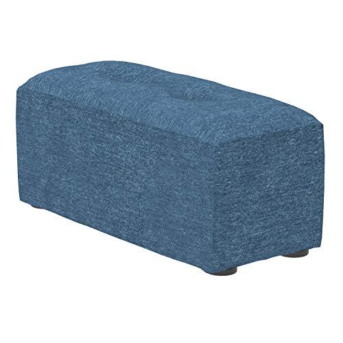 Marca Amazon -Alkove Elvas - Reposapiés alto para sofá modular, 40 x 93cm, azul marino