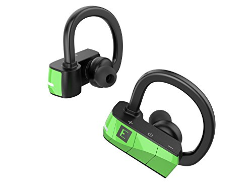 ERATO Rio 3 - kabellose Bluetooth Sport Kopfhörer mit Memory Bügel - Grün