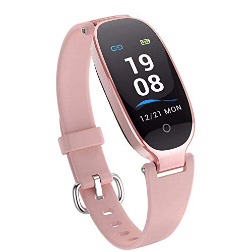 Fitness Tracker,Activity Fitness Tracker For Women Waterproof Smartwatch For Womenwith Step Counter, Call & SMS Remind Support iOS Android S3