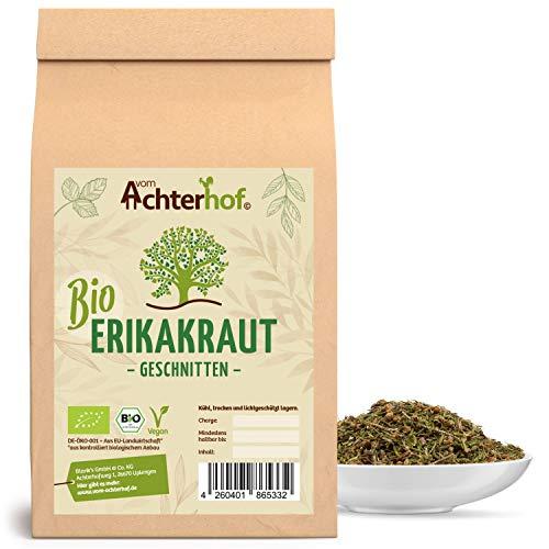 BIO Heidekraut (250g) Erikakraut geschnitten Erikakrauttee Heidekrauttee Heather cut organic vom-Achterhof