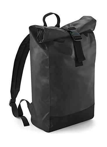 Tarp Roll-Top Backpack, Farbe:Black, Größe:26 x 43 x 13 cm
