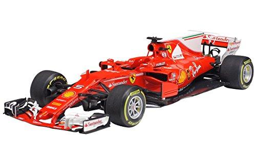 TAMIYA 20068 20068-1:20 Ferrari SF70H, modellino di costruzione, set di costruzioni in plastica, fai da te, hobby, incollaggio, set di costruzioni in plastica, non verniciato.