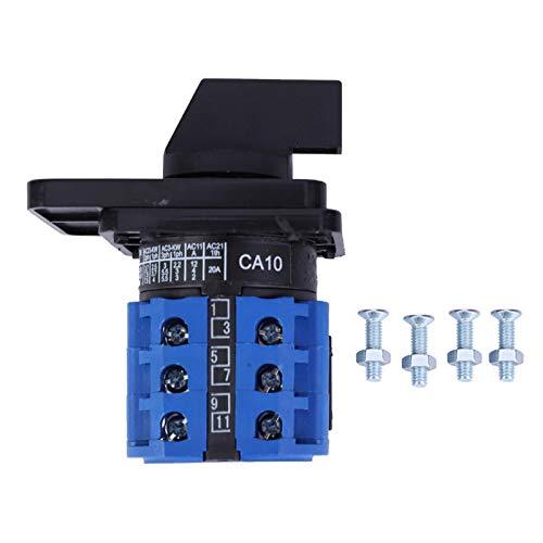 CA10 Generador de levas del interruptor de control del selector de cambio de 4 posiciones y 8 terminales, interruptor de cambio