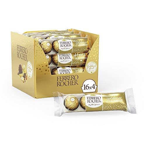 Ferrero Rocher - Thekendisplay (16 x 4 Pralinen)
