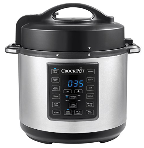 Crock-Pot CSC051X-0 - Express MultiCooker da 5.6 l, Programmabile 12-in-1, Cottura a...